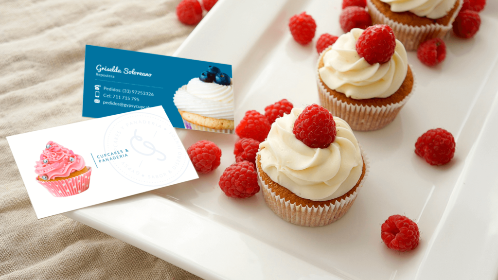 Soluble Branding - Gypsy Cupcakes