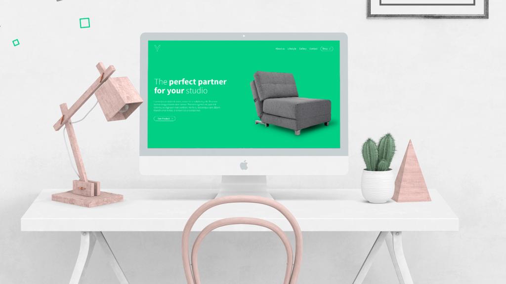 Soluble Branding - Diseño Pagina Web Muebles Valik